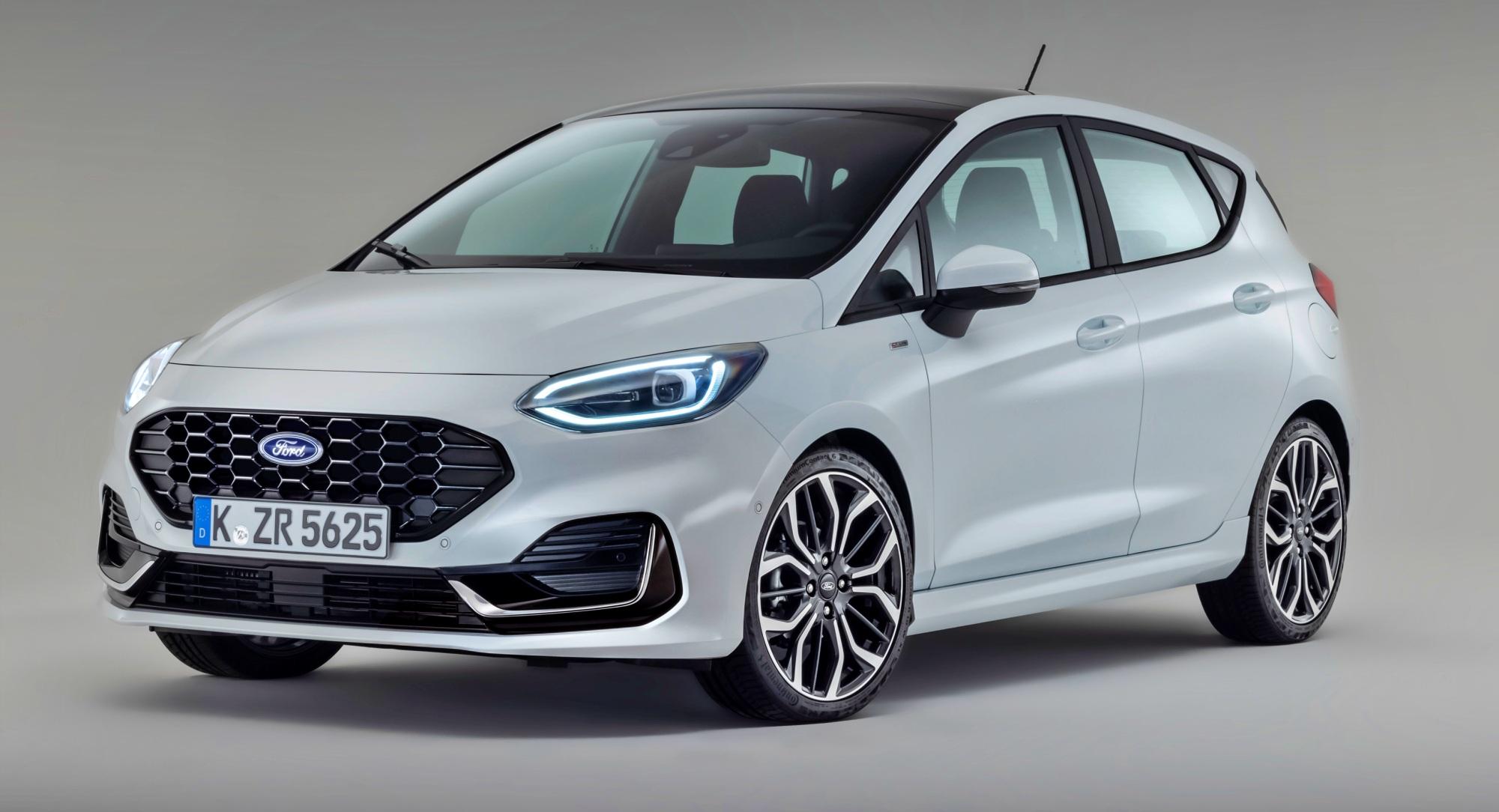Ford Fiesta przód