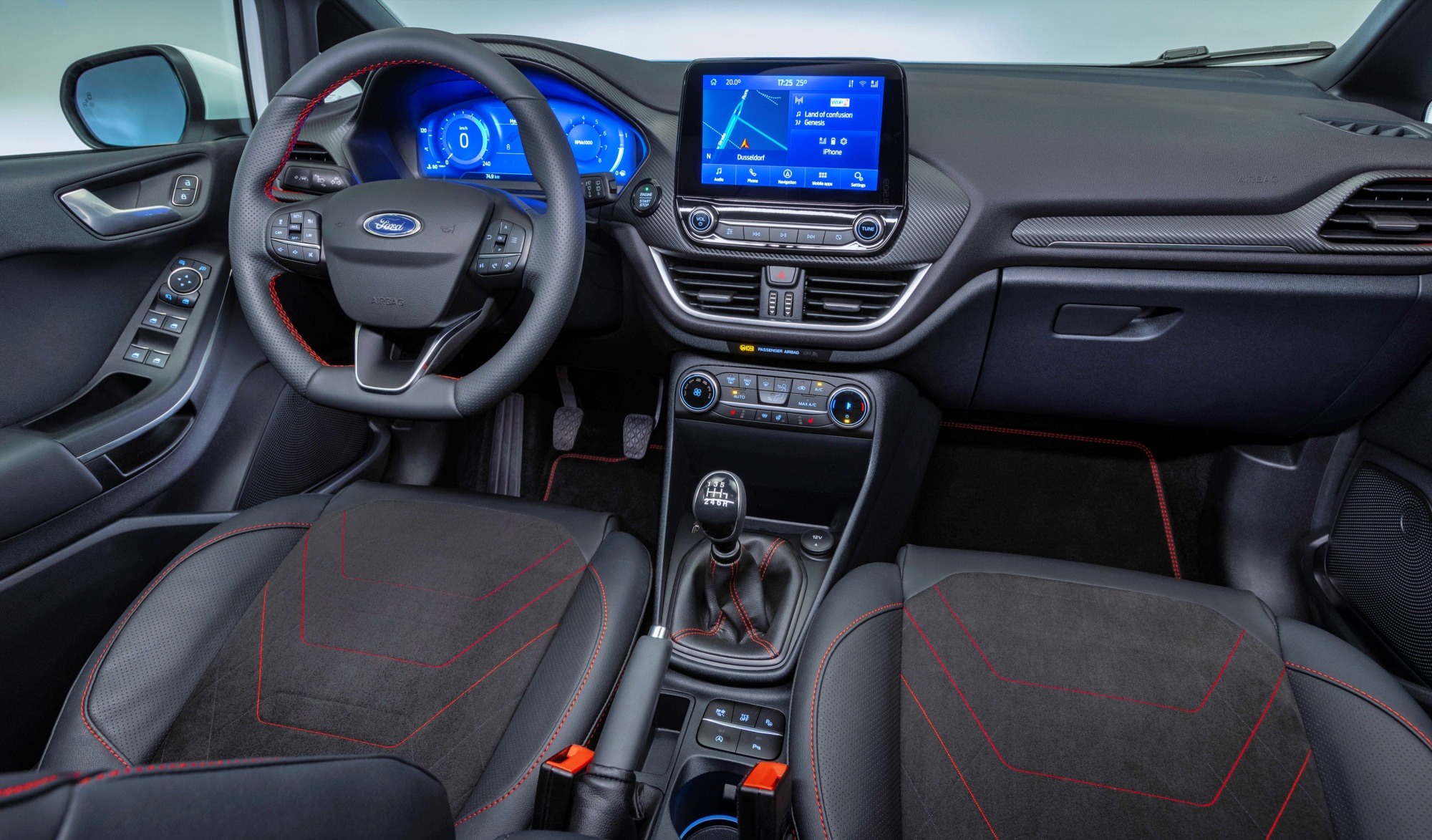 Ford Fiesta deska