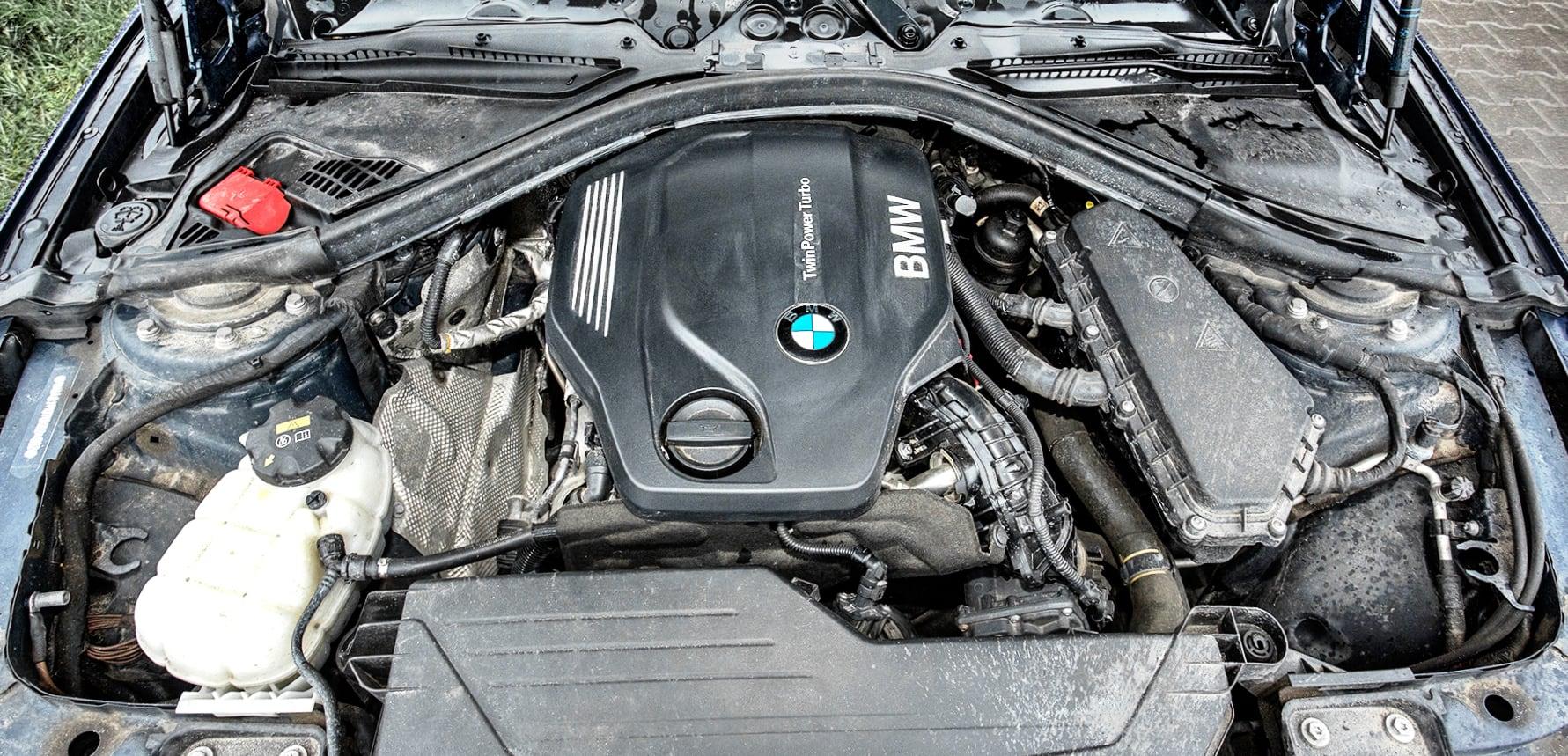 BMW 320d xDrive F31 silnik