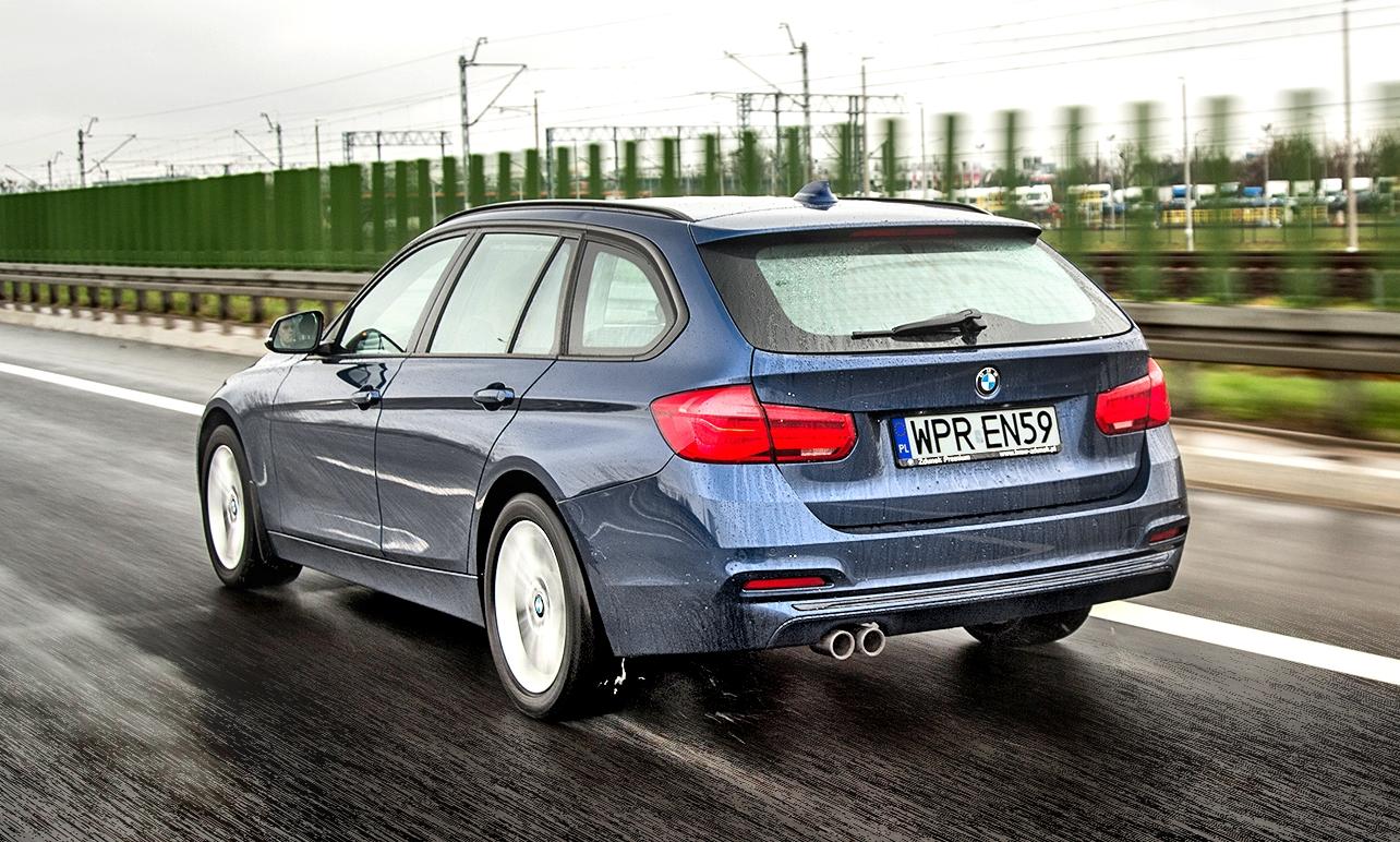 BMW 320d xDrive F31 wruchu bok itył