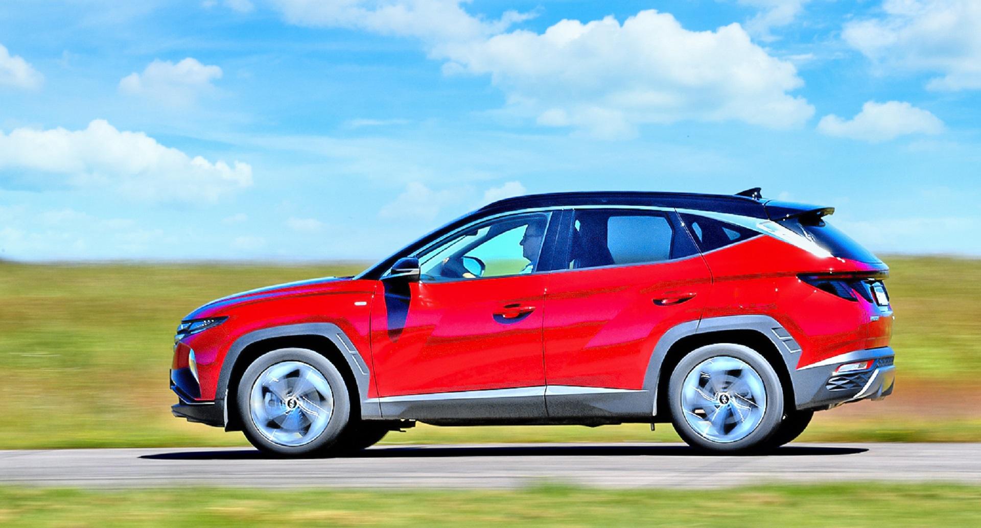Hyundai Tucson - bok