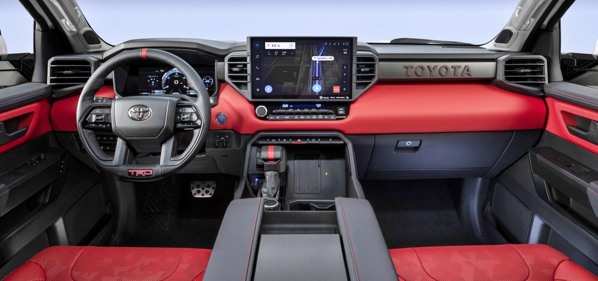Toyota Tundra deska