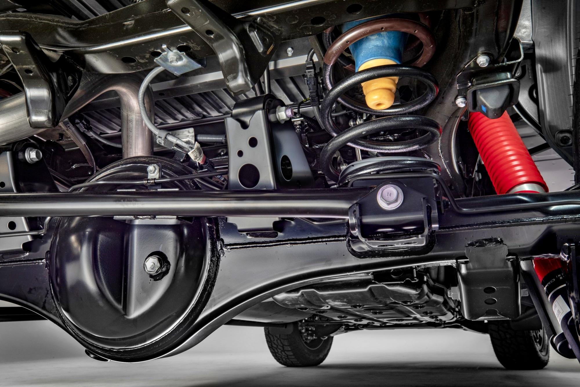Toyota Tundra zawieszenie