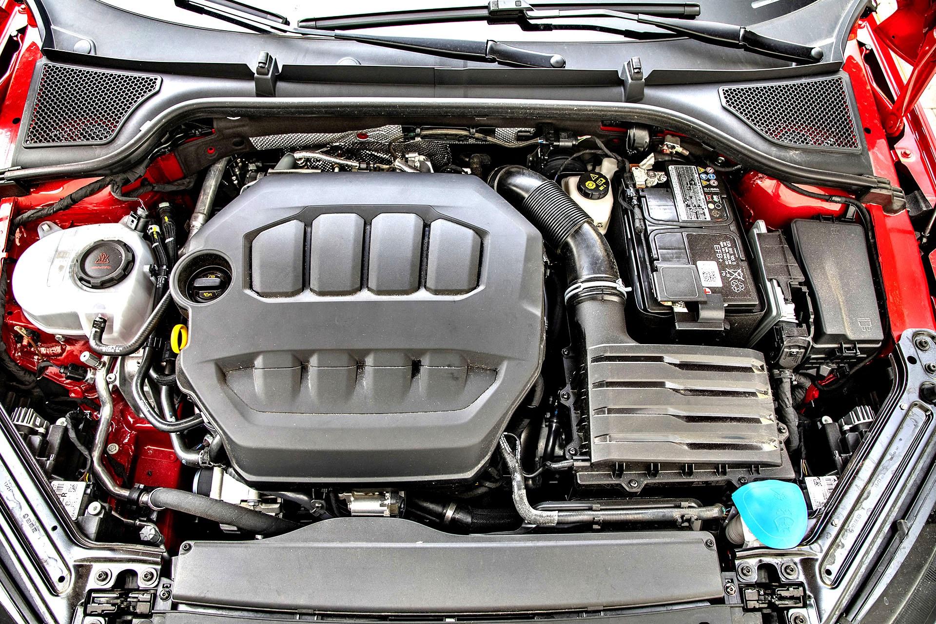 2021 Skoda Octavia RS 2.0 TSI 245 DSG - silnik