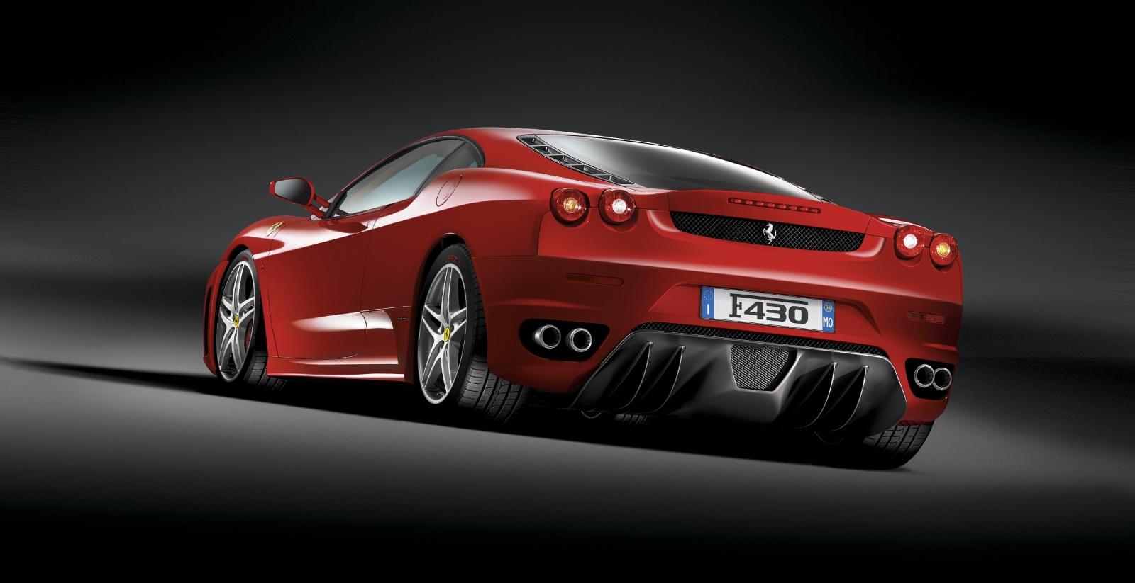 Ferrari F430 - tył