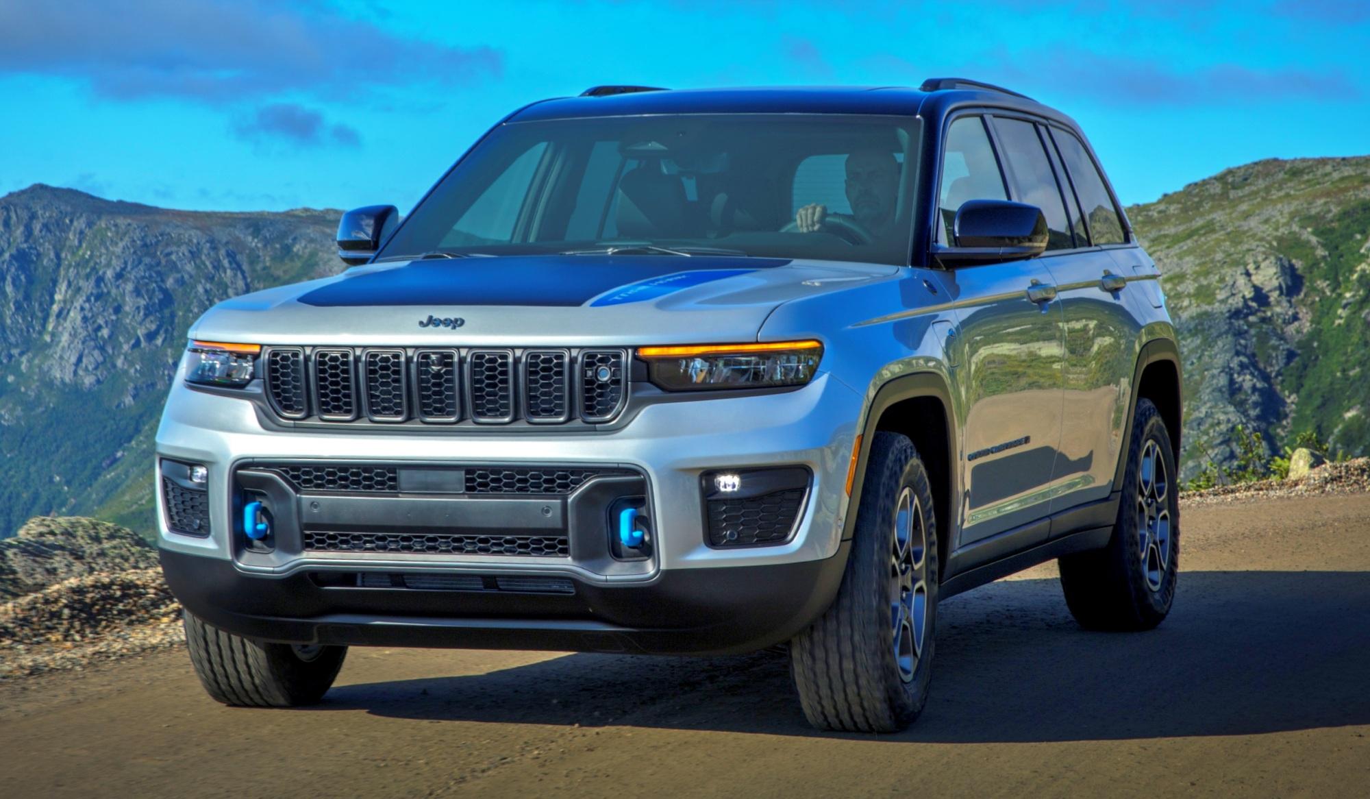 Jeep Grand Cherokee przód