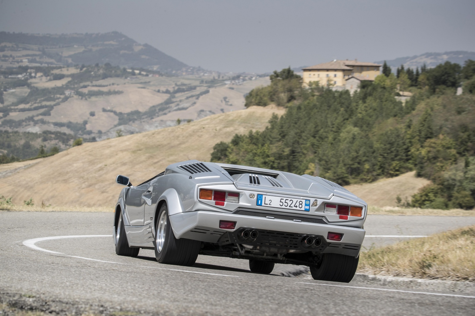 Lamborghini Countach Anniversario - tył
