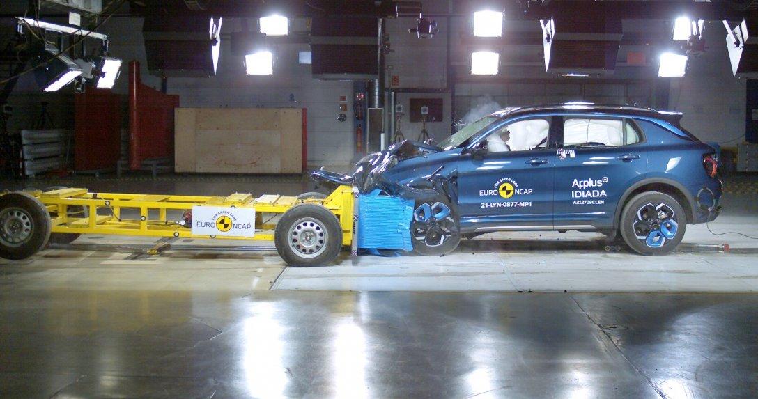 Lynk&Co test Euro NCAP