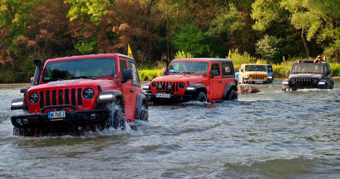 Jeepy na Camp Jeep PL 2021