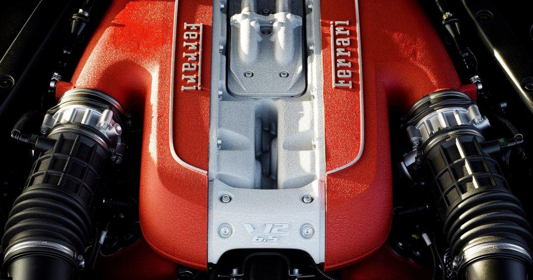 Silnik V12 Ferrari