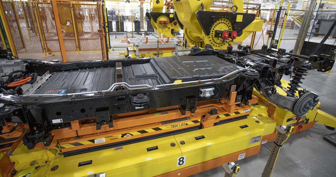 produkcja samochodu elektrycznego w fabryce Forda