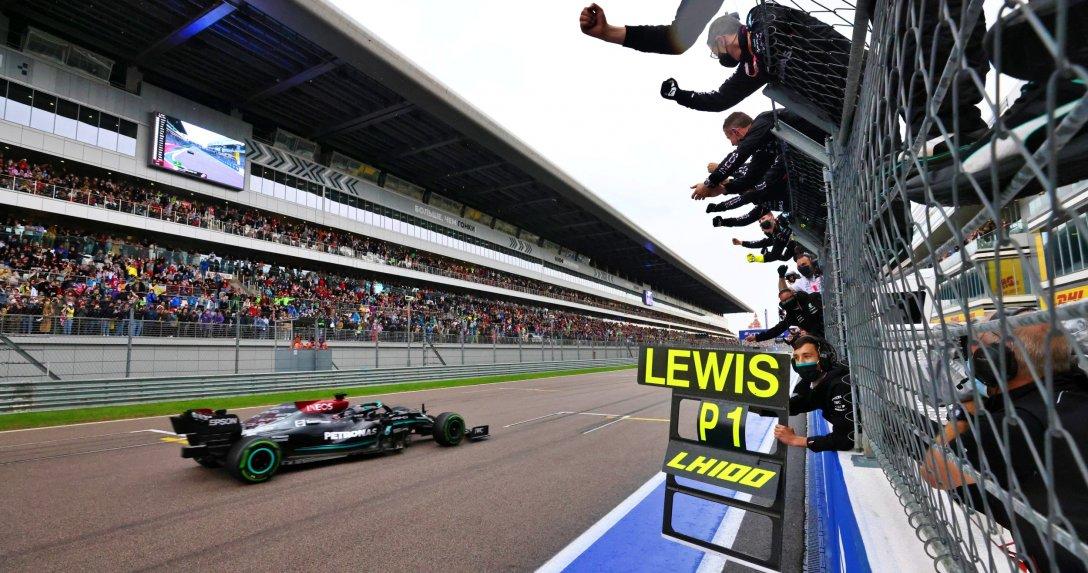 Hamilton F1 GP Rosji