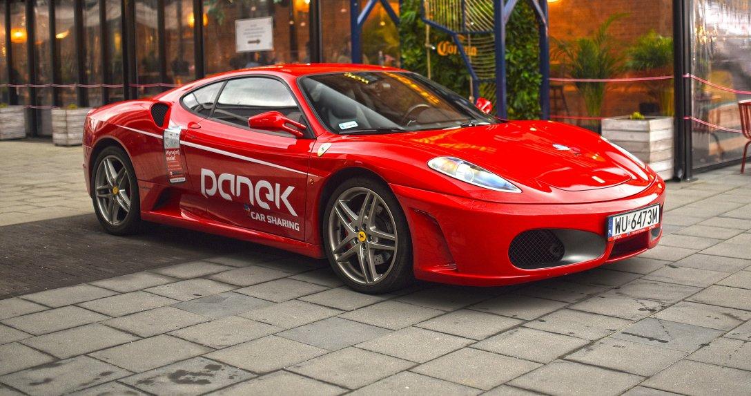 Ferrari F430 we flocie firmy Panek