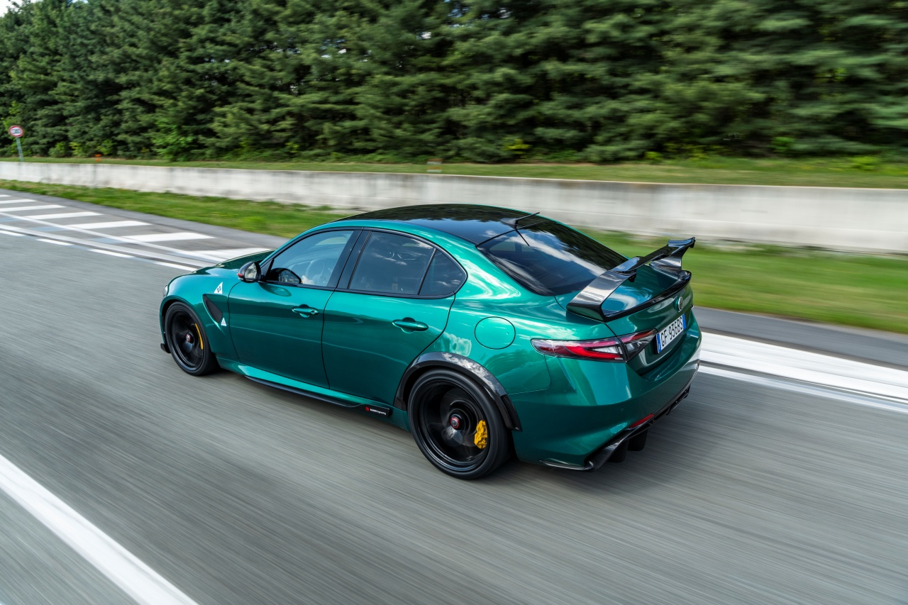 Alfa Romeo Giulia GTAm - tył