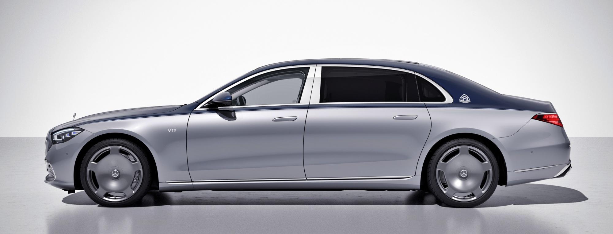 Mercedes-Maybach klasy  bok