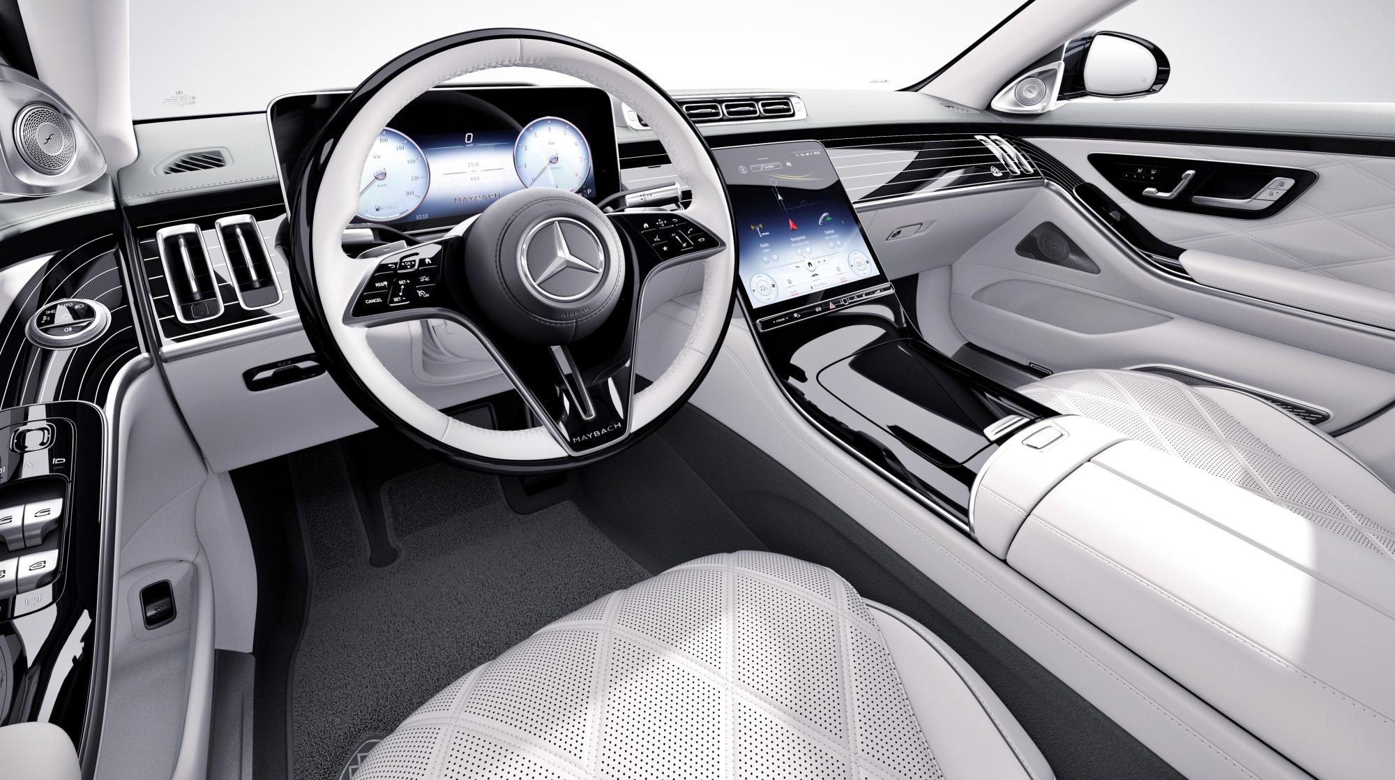 Mercedes-Maybach klasy S deska