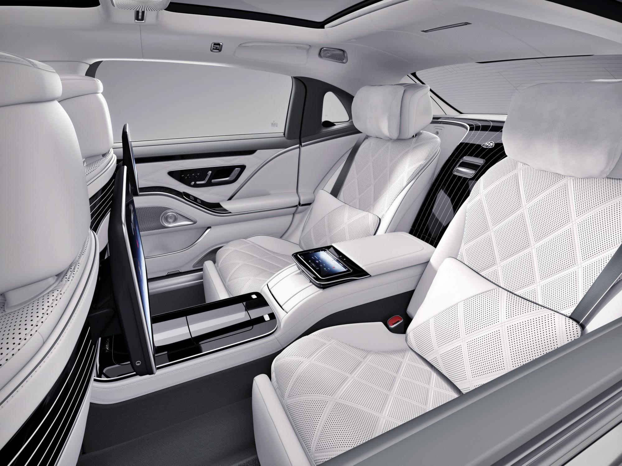 Mercedes-Maybach klasy S siedzenia
