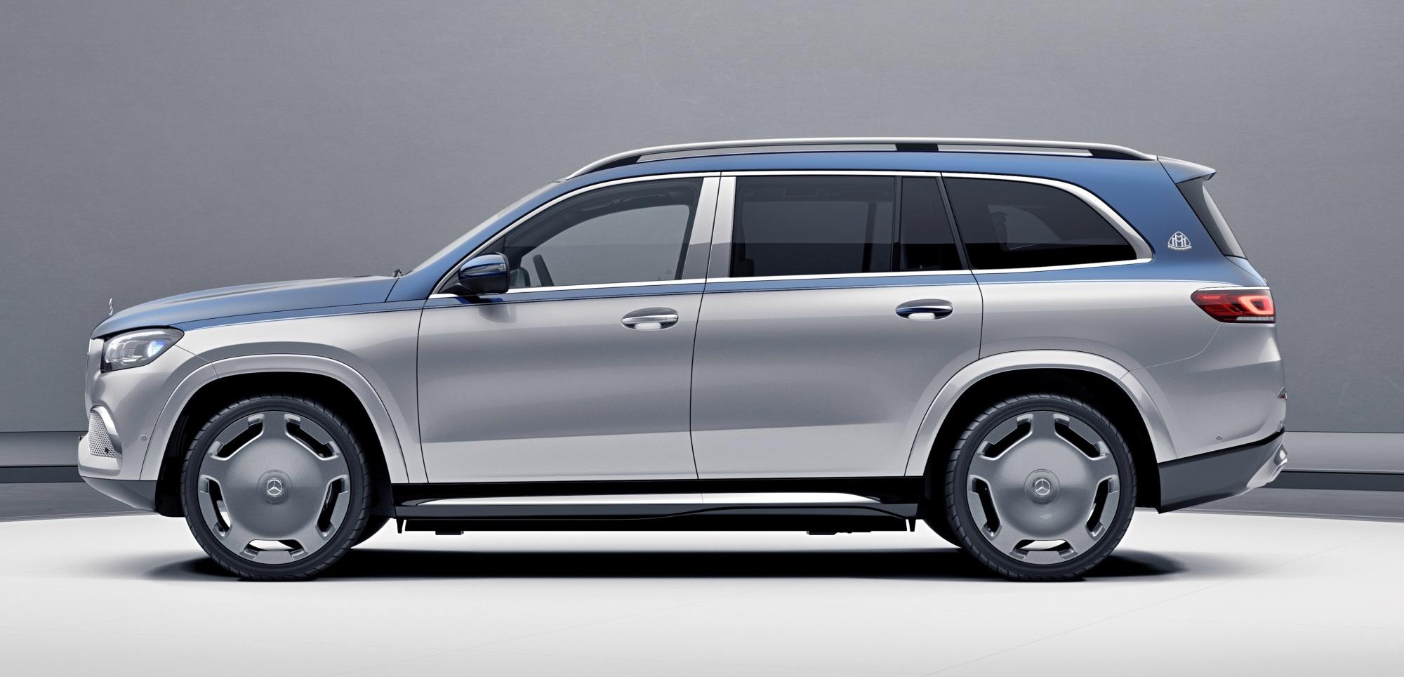 Mercedes-Maybach GLS bok