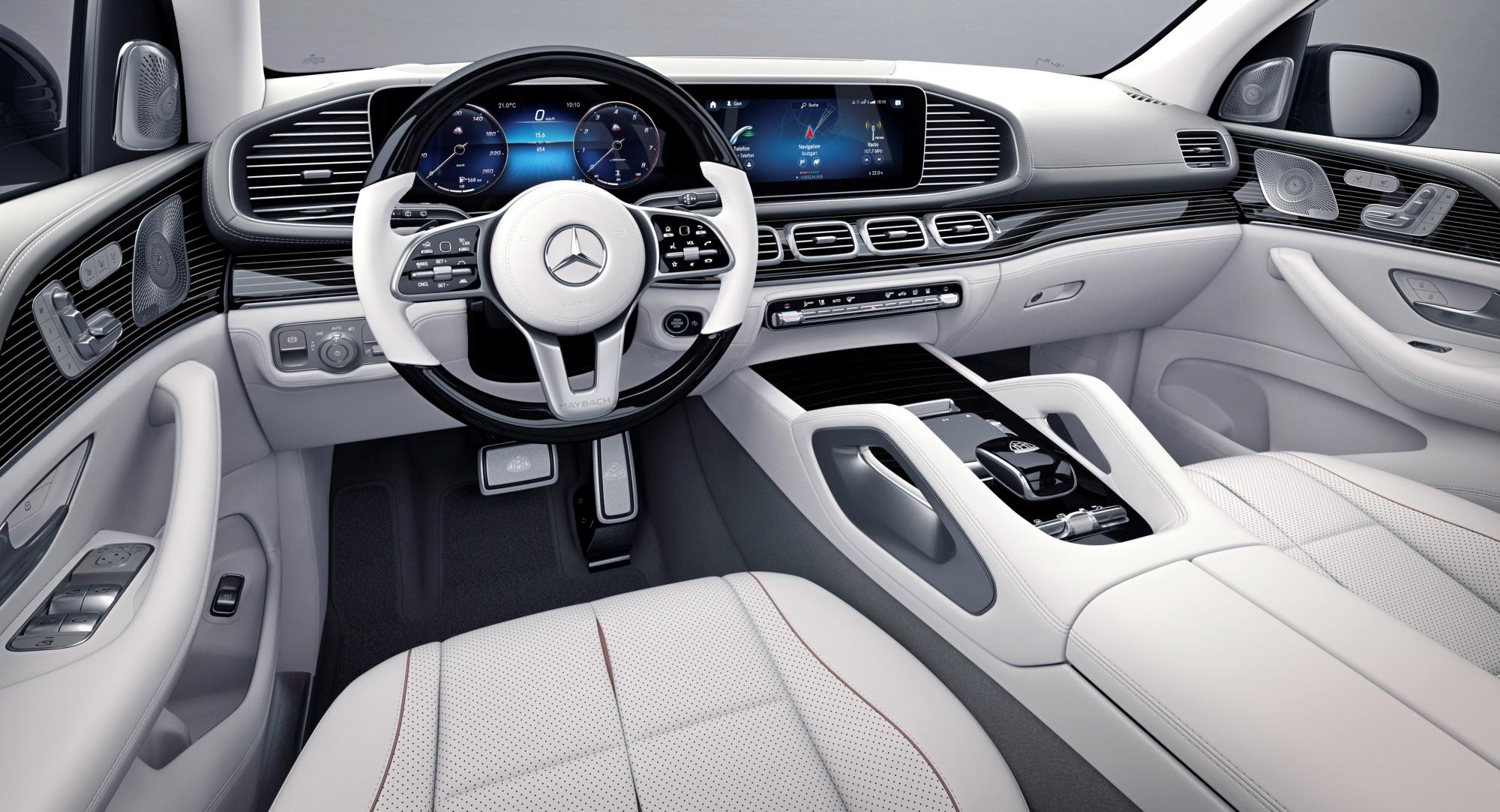 Mercedes-Maybach GLS deska