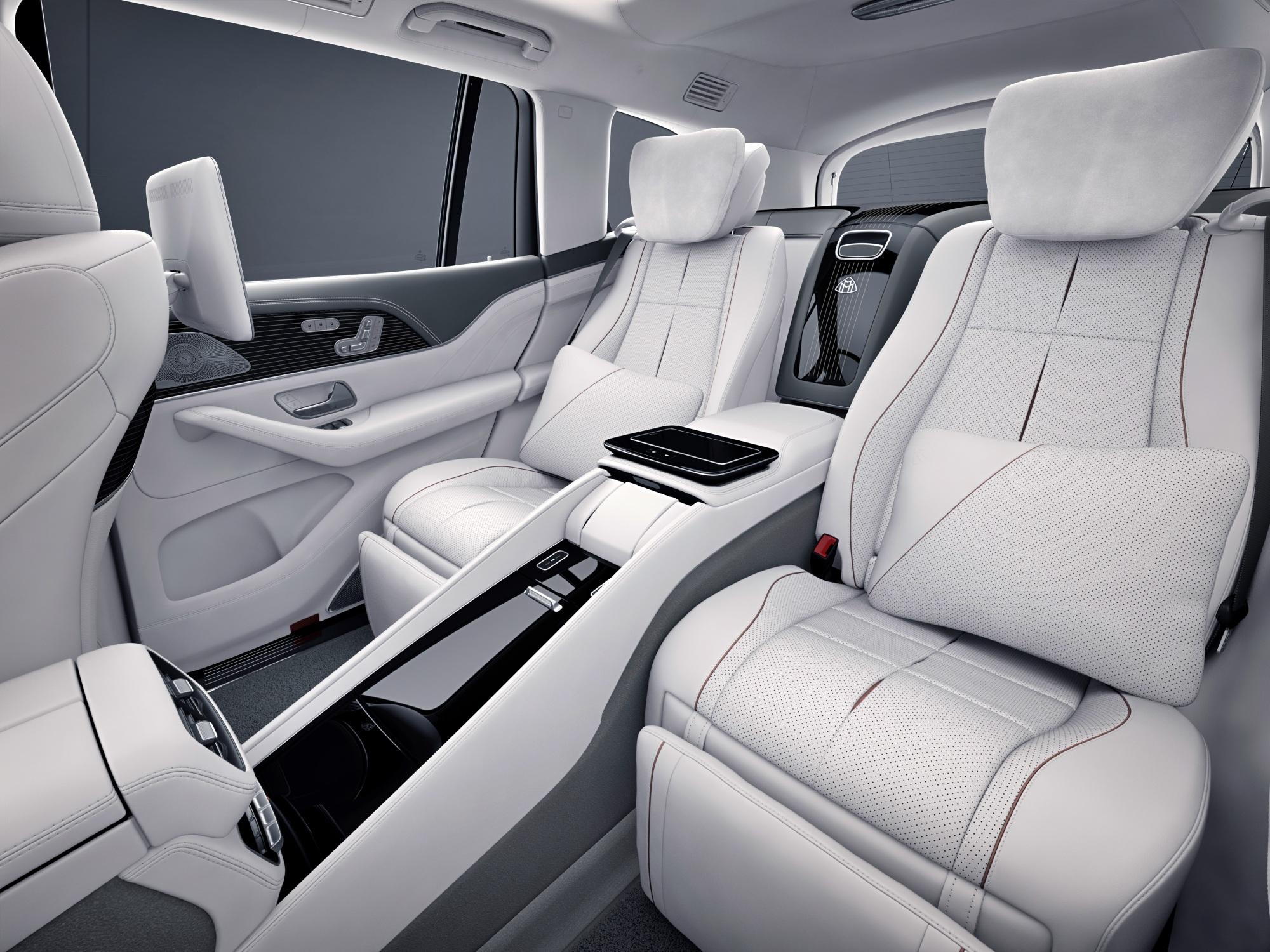 Mercedes-Maybach GLS fotele tył