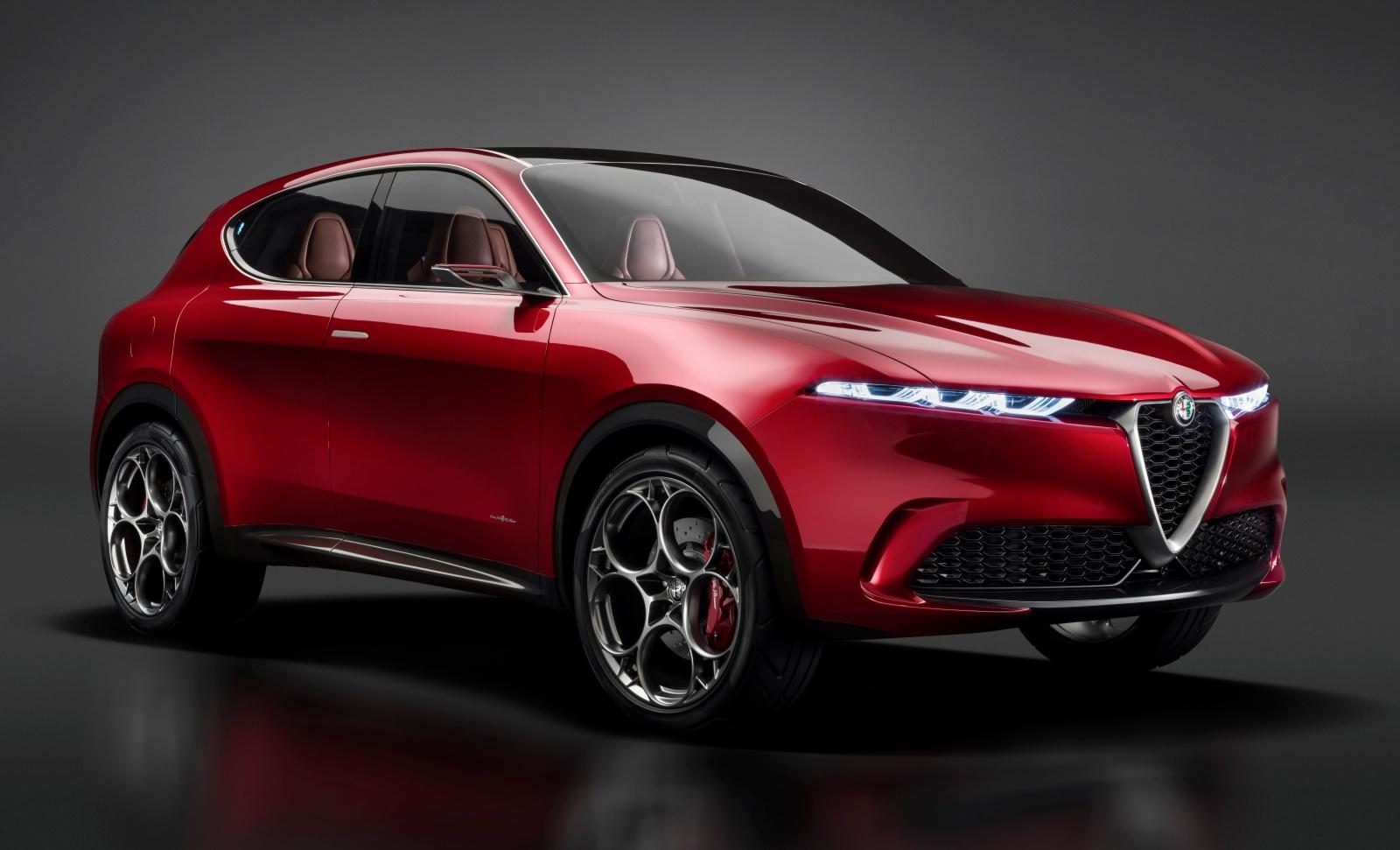 Alfa Romeo Tonale - prototyp, przód