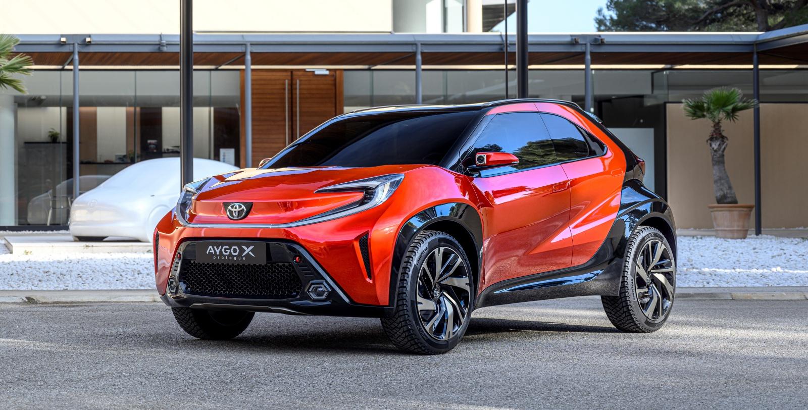 Toyota Aygo X prologue - przód