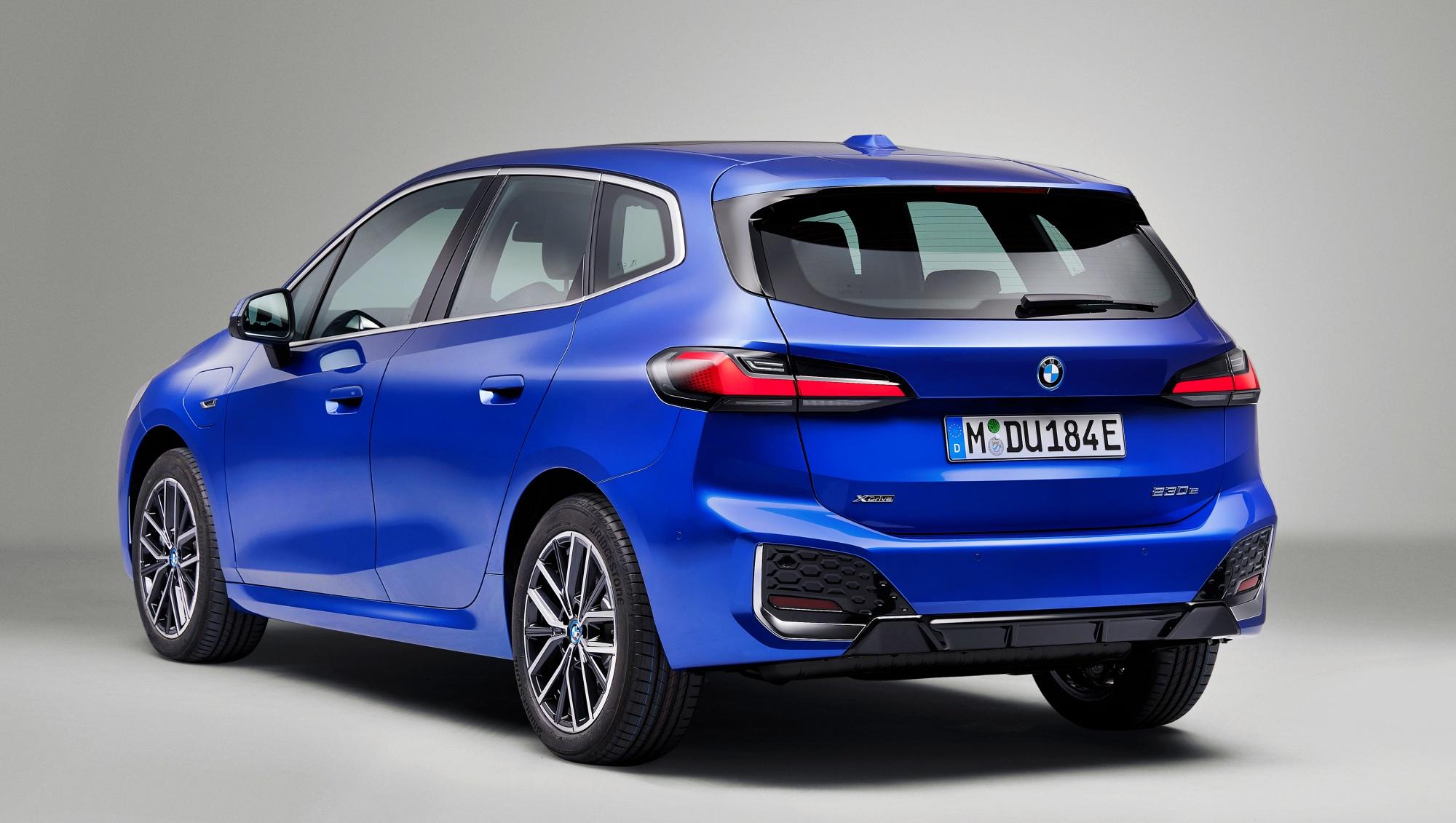 BMW serii 2 Active Tourer tył