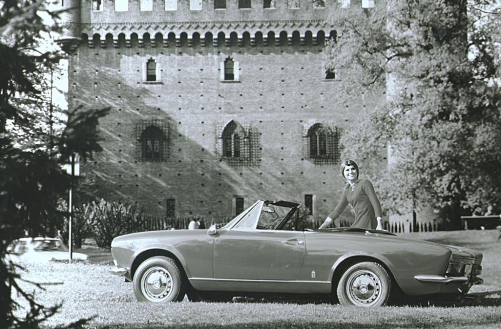 Fiat 124 Spider - tył