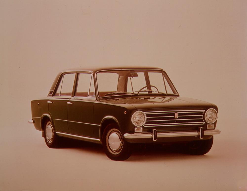 Fiat 124 - przód