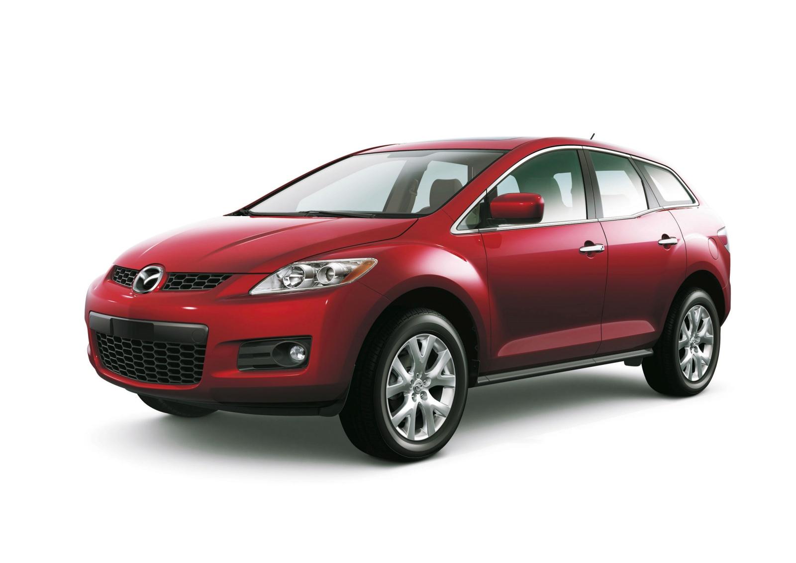 Mazda CX-7 - przód