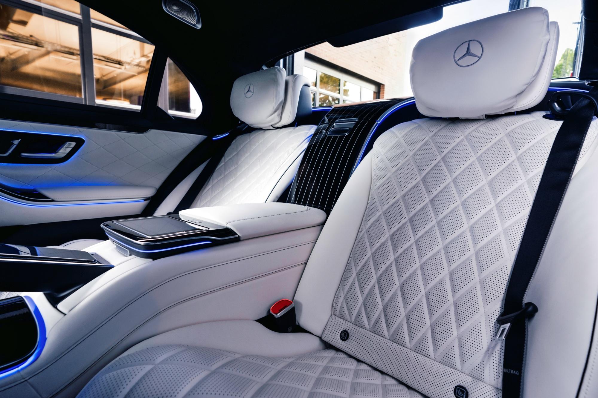 Mercedes klasy S kanapa