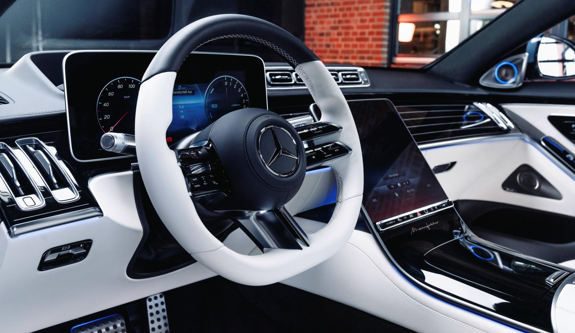 Mercedes klasy S deska
