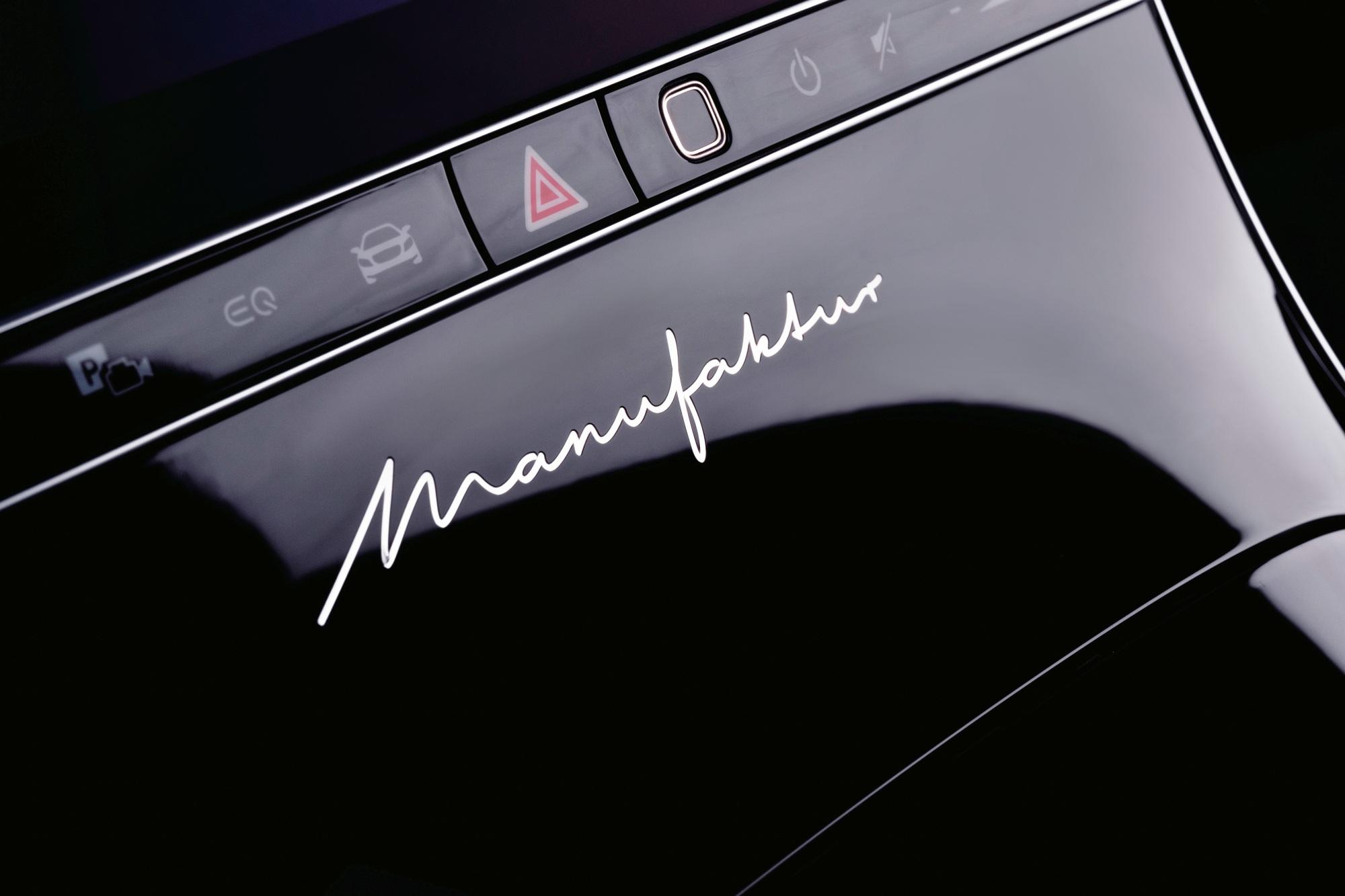 Mercedes klasy S wnętrze