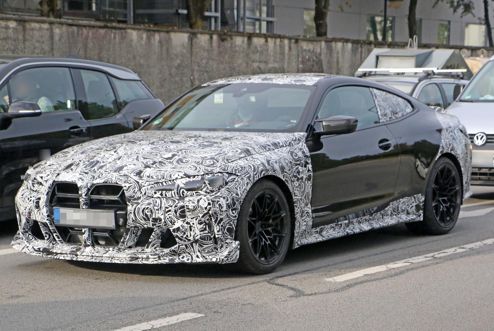 BMW M4 CSL - przód