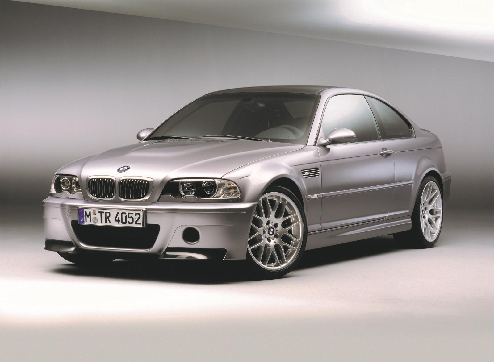 BMW M3 E46 CSL - przód