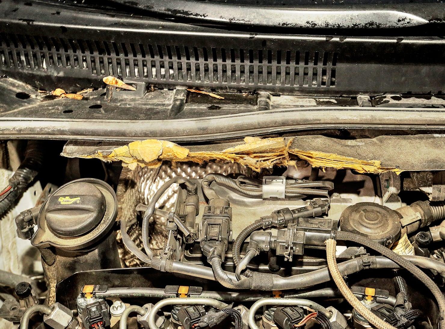 Toyota Avensis III 2.0 D-4D Prestige kruszące się wygłuszenie nagrodzi