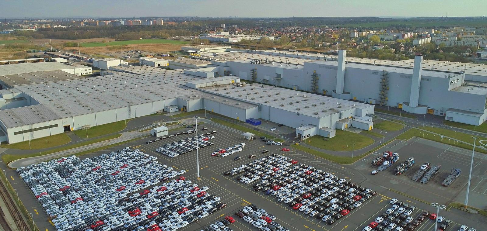 Fabryka Stellantis wGliwicach