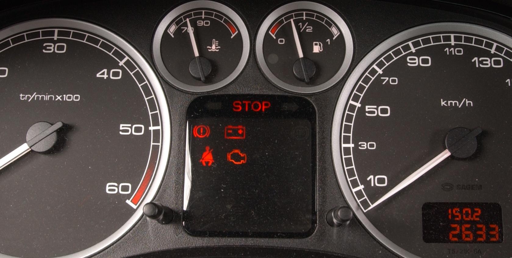 zegary Peugeot 307