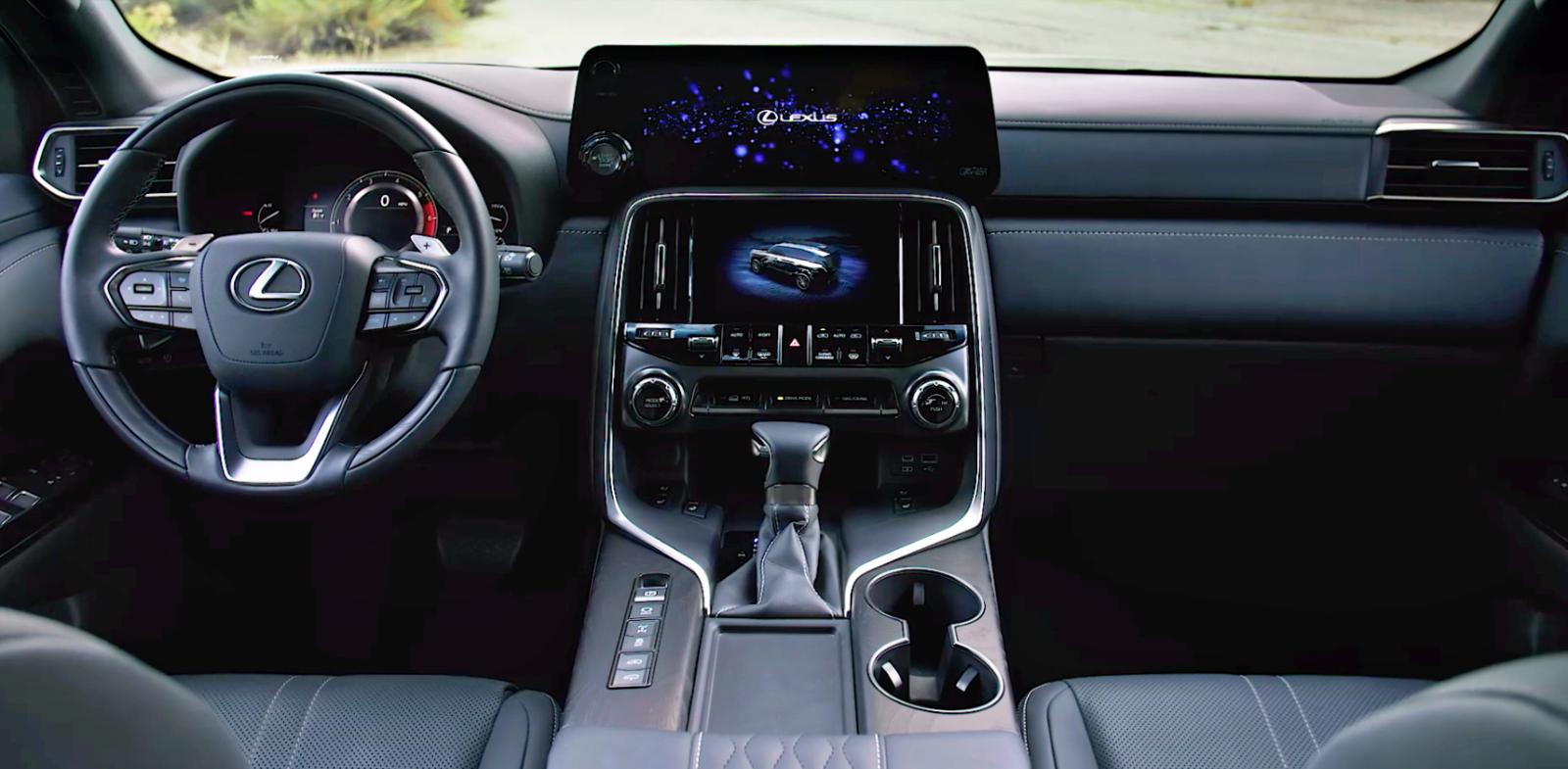 Lexus LX deska