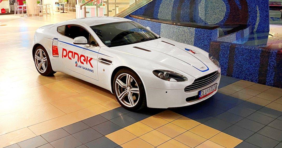 Aston Martin V8 Vantage w carsharingu firmy Panek