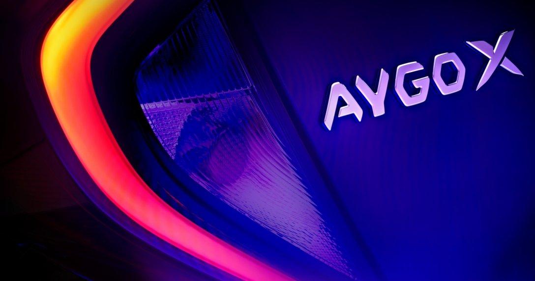 Toyota Aygo X - tylne światło