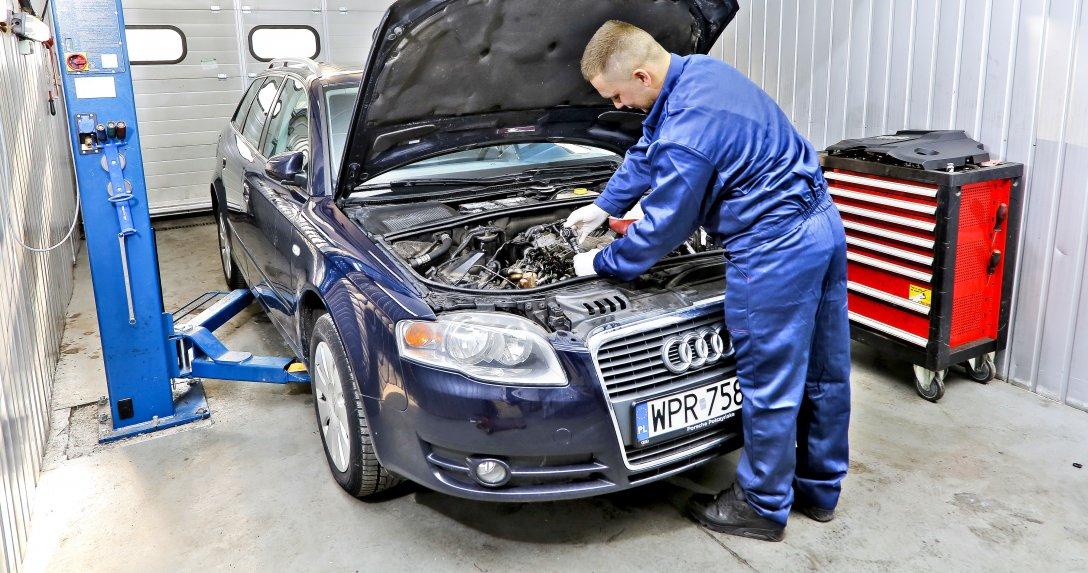 Audi A4 B7 w serwisie